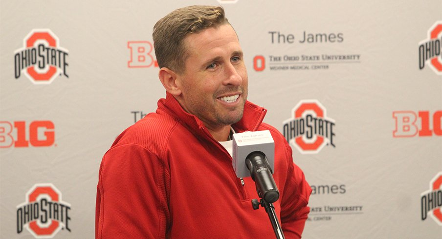 Brian Hartline has a lot to smile about.