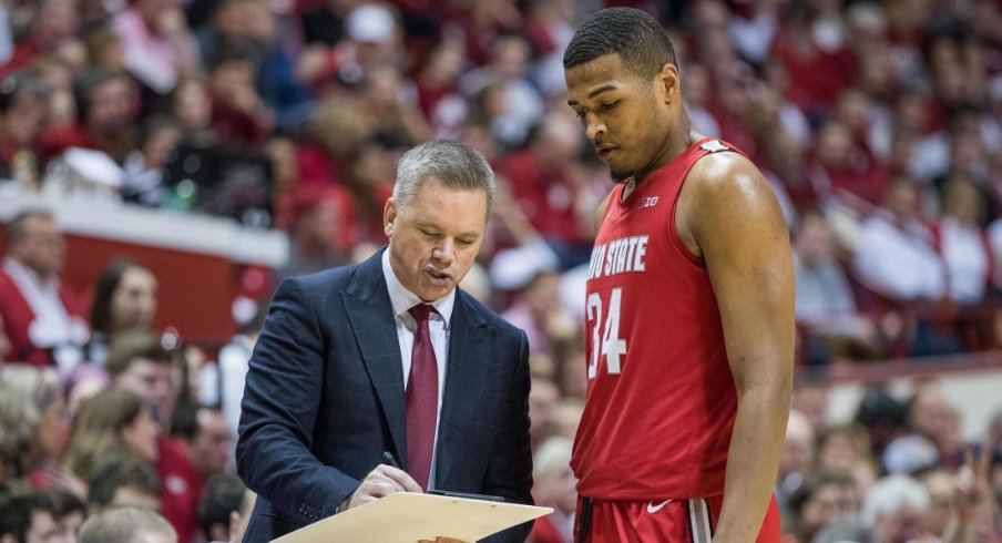 Chris Holtmann and Kaleb Wesson