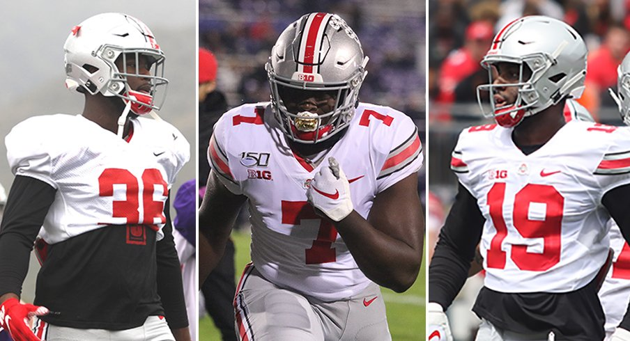 Ohio State's trio of talented juniors may have to wait a bit longer for starting roles.