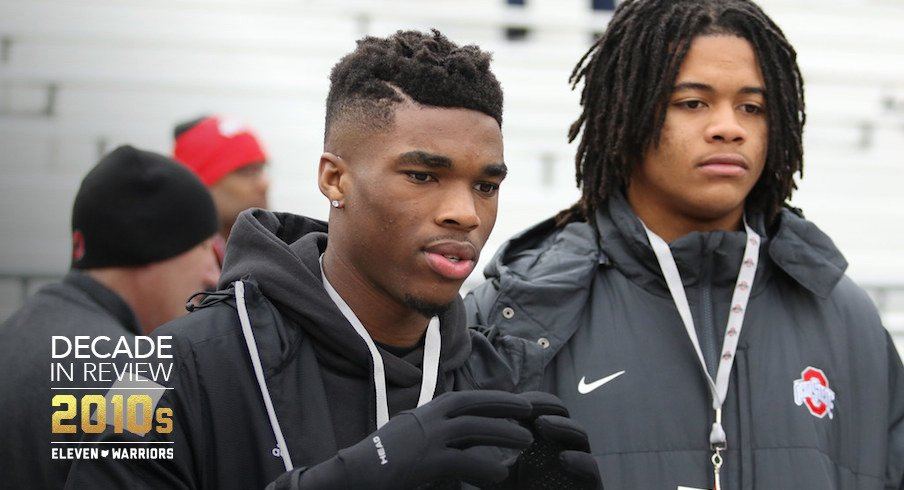 Jeff Okudah and Chase Young as recruits