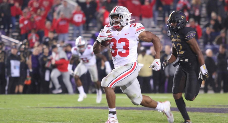 Master Teague III takes over as Ohio State's lead back after a strong redshirt freshman season in 2019.