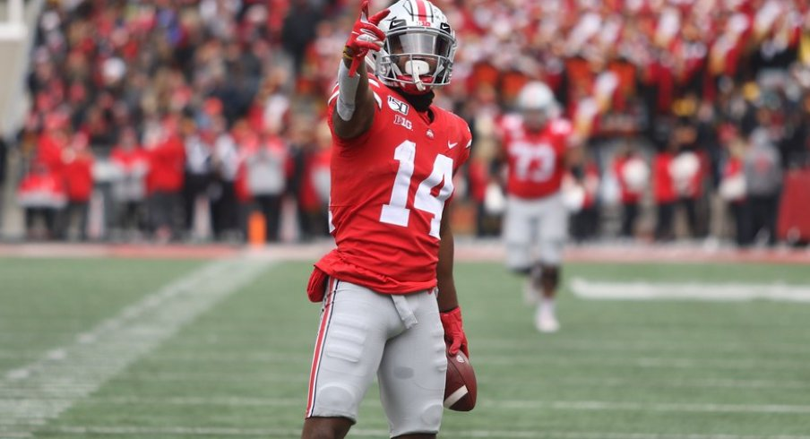 K.J. Hill didn't become Ohio State's all-time leader in receptions by athletic ability alone.