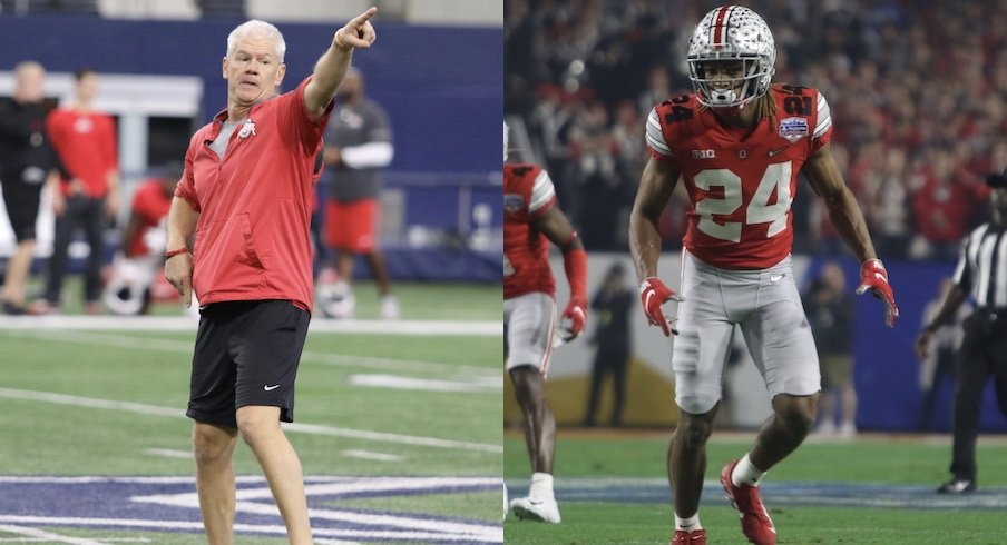 Kerry Coombs and Shaun Wade
