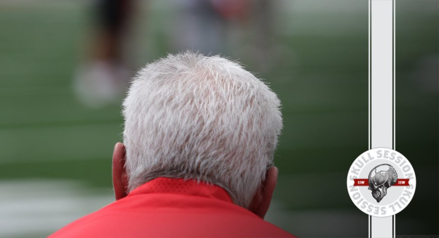 Kerry Coombs in today's skull session.