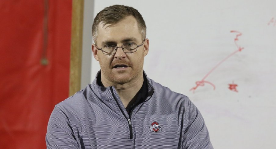 Ohio State Special Teams Coordinator and Defensive Backs coach Matt Barnes took hundreds of Ohio High School coaches through the team's approach to playing zone defense at a recent clinic.