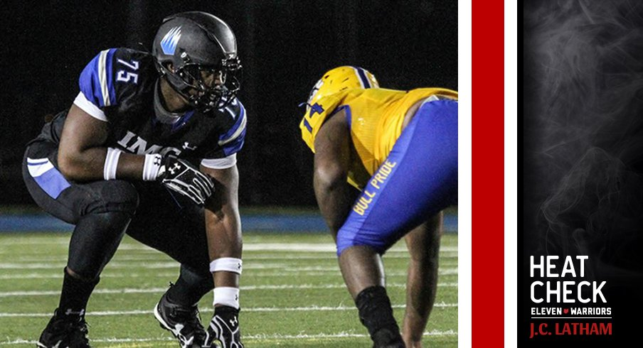 J.C. Latham will decide between Ohio State and LSU.