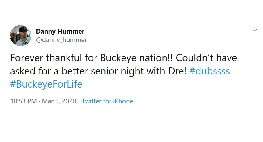 This Week in Twitter: Parris Campbell is Ready to Team Up with Homage, Members of the Football Team Make Their Debut on TikTok, Buckeyes Celebrate Senior Day