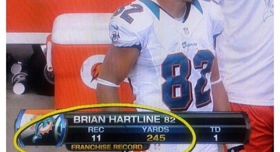 Brian Hartline went off.