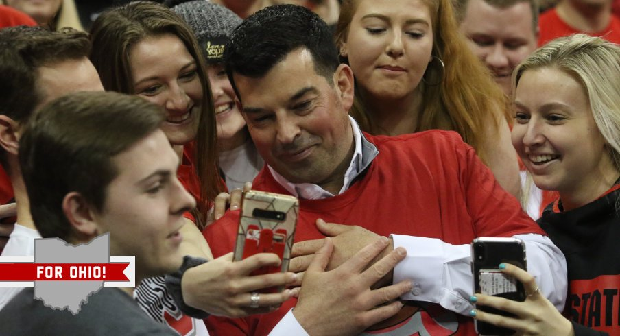 For Ohio: Ryan Day is Passing His Socially Distanced Days Bing-Watching Tiger King and Cooking in the Crockpot