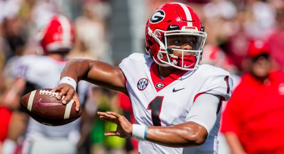 Justin Fields left Athens for Columbus and became a Heisman finalist in his first season for the Buckeyes.