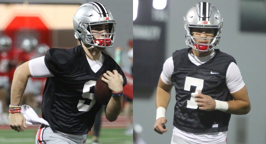 Freshman Quarterbacks Jack Miller, C.J. Stroud Forced to Continue Development Away from Ohio State After Spring Practices End Early