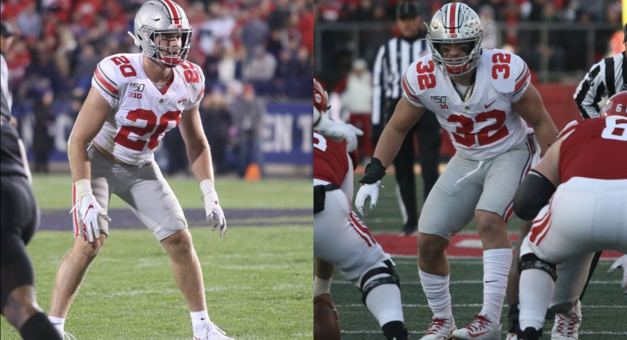 Tuf Borland and Pete Werner return in 2020 for their finals seasons in Scarlet and Gray, but they may have better pro prospects than many Buckeye fans expect.
