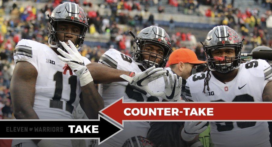 Take Counter Take Ohio State Should Wear Alternate Uniforms Regularly Eleven Warriors