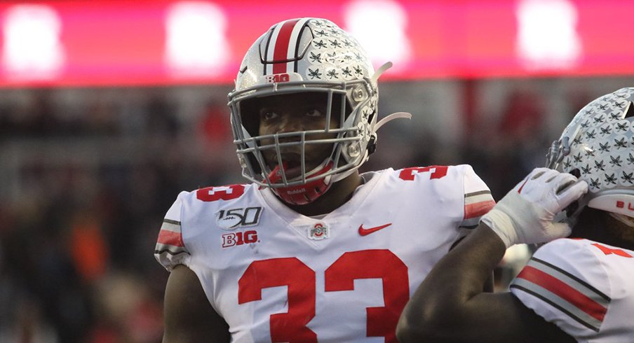 Ohio State Defensive End Zach Harrison