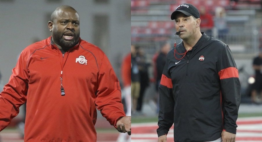 Tony Alford and Ryan Day