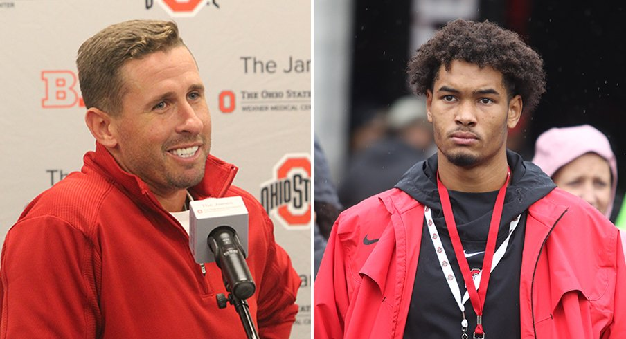 Brian Hartline has his sights set on yet another five-star wideout.