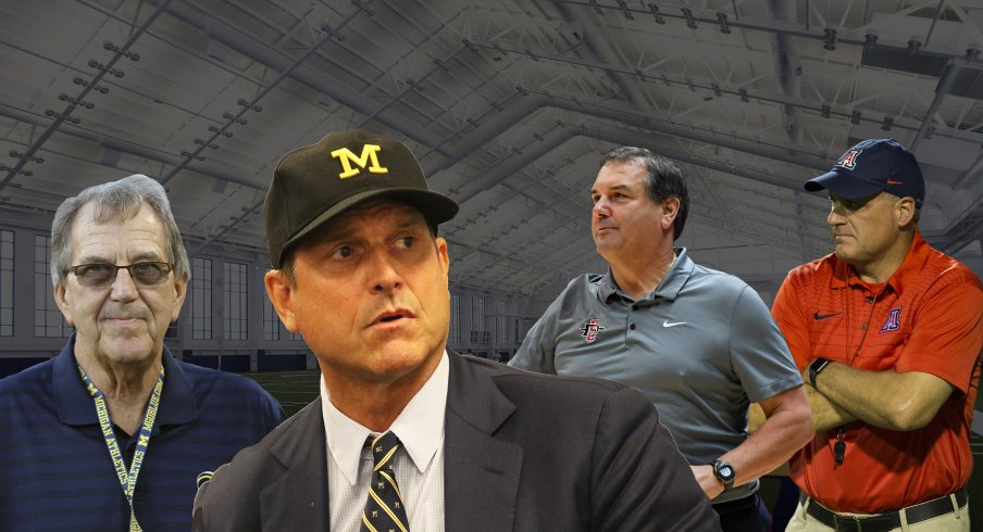 Imagining Former Michigan Coaches Joining Forces to Create Support Group for Jim Harbaugh
