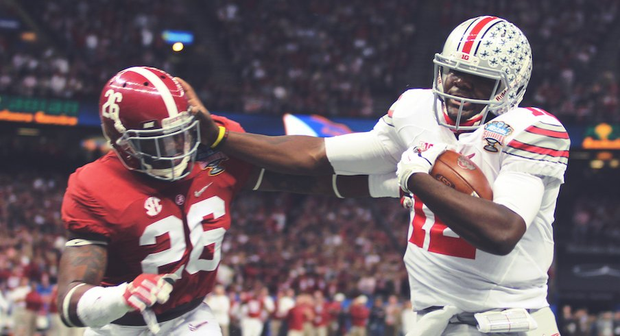 Cardale Jones vs. Alabama in the 2014 CFP