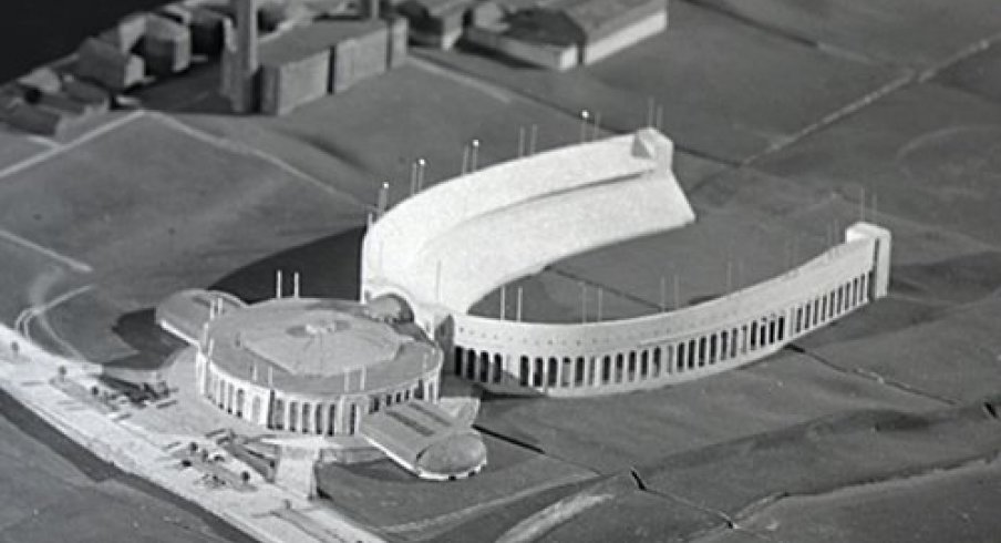 Proposed annex to Ohio Stadium from 1944.