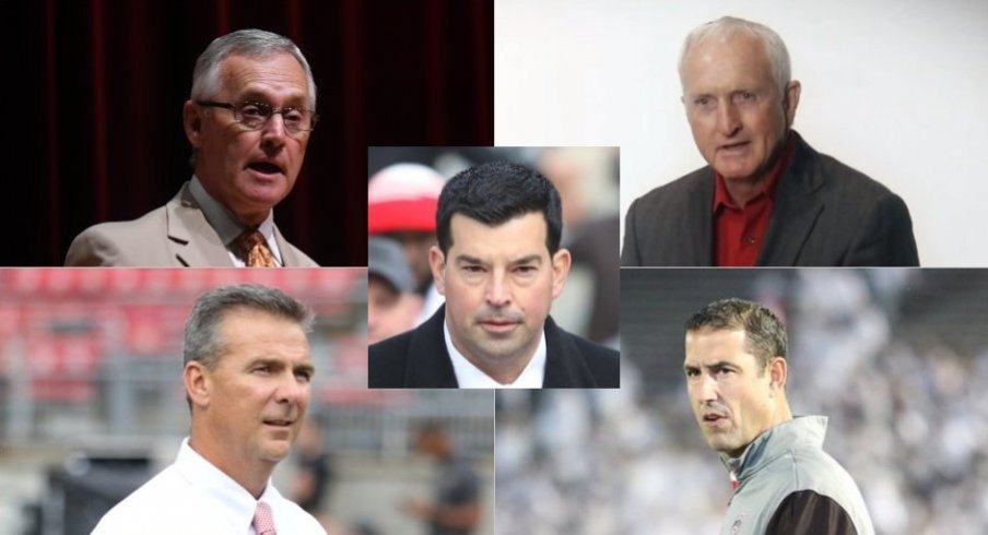 All-Mesh Team Offense - comprised of players from the John Cooper, Jim Tressel, Luke Fickell, Urban Meyer and Ryan Day eras at Ohio State.