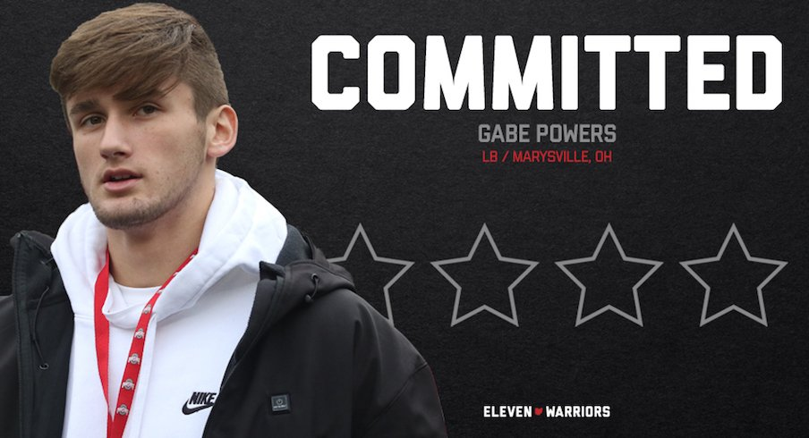 Gabe Powers commits to Ohio State.