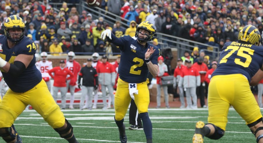 Michigan's offense failed to meet expectations last season under new coordinator Josh Gattis and quarterback Shea Patterson.