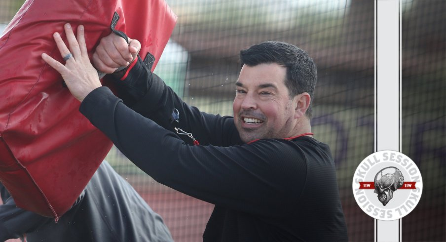 Ryan Day is smiling in today's skull session.