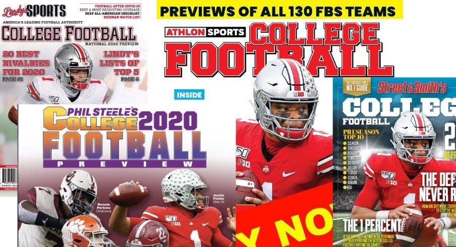 College Football Magazines