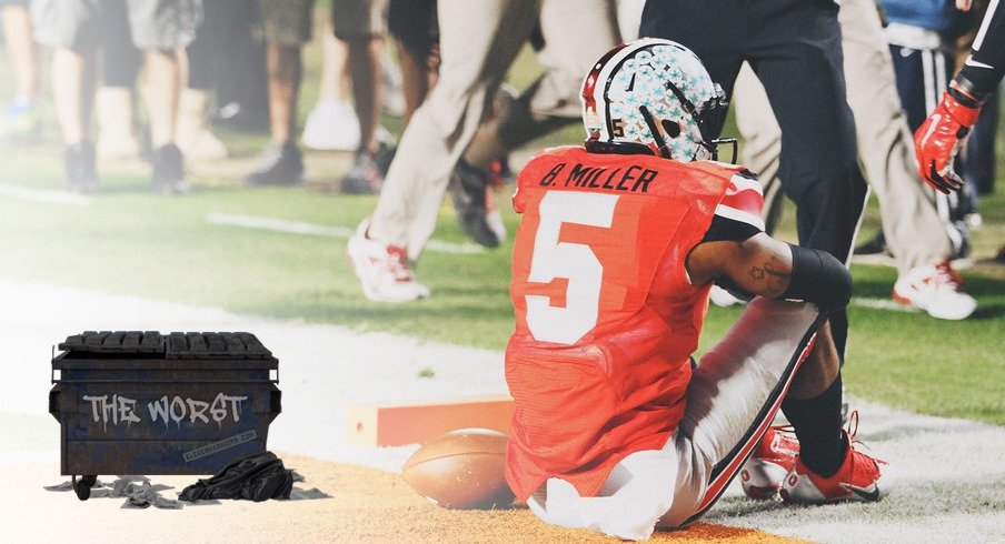 Ohio State quarterback Braxton Miller was NOT The Worst