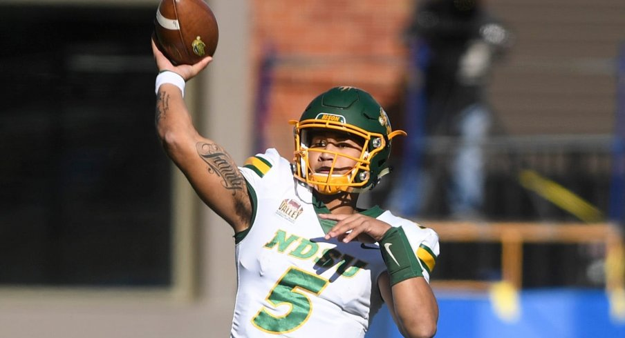 North Dakota State's Trey Lance has emerged as a potential top pick alongside Trevor Lawrence and Justin Fields in next year's NFL draft.