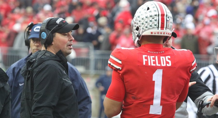 Ryan Day and Justin Fields
