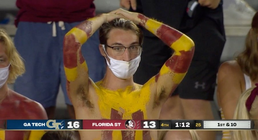 Florida State's surrender cobras were out in full force.