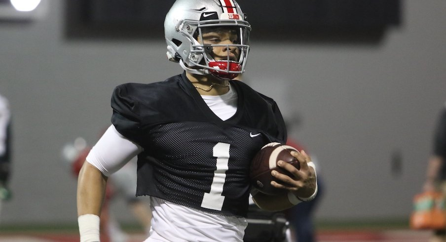 """Justin Fields Wants A """"30 for 30"""" Documentary Made About Ohio State's Season If It Can Win National Championship"""