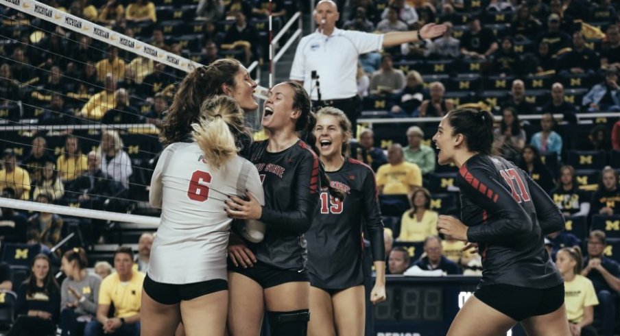 Ohio State women's volleyball will move to a spring schedule.