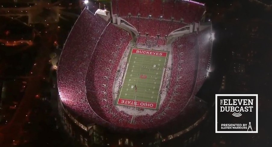 Ohio Stadium, filled with fans