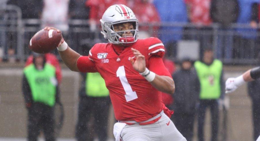 Justin Fields is primed to flex on Ohio State's record book despite the shortened season.