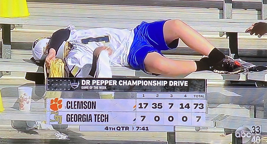 Georgia Tech fans had very little to get excited about.