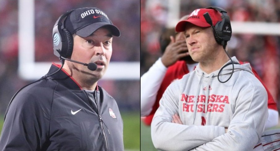 Ryan Day and Scott Frost experience very different emotions when gazing upon the scoreboard.