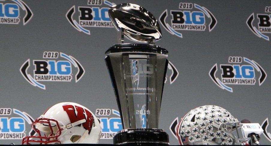 2019 Big Ten Championship Game trophy