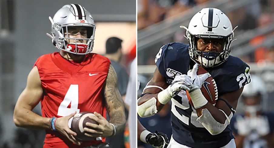 Ohio State's wide receiver room, Penn States running back room are among the best in America.