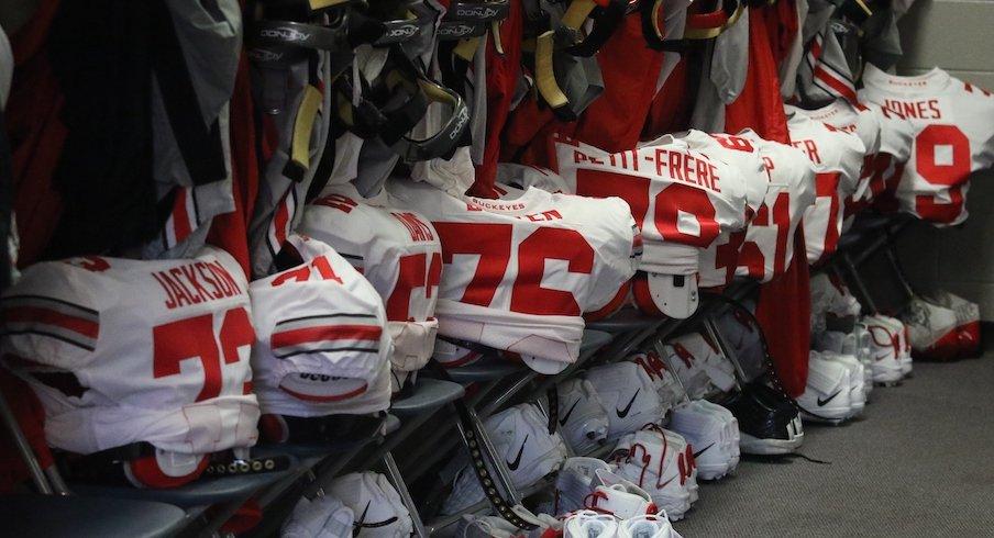 Ohio State locker room
