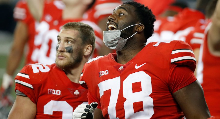 Three Starting Offensive Linemen Tuf Borland Josh Proctor Among Unavailable Players For Ohio State S Game Against Michigan State Eleven Warriors