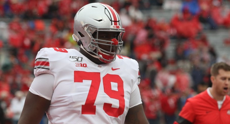 Dawand Jones should start at left tackle in place of Thayer Munford versus Michigan State.