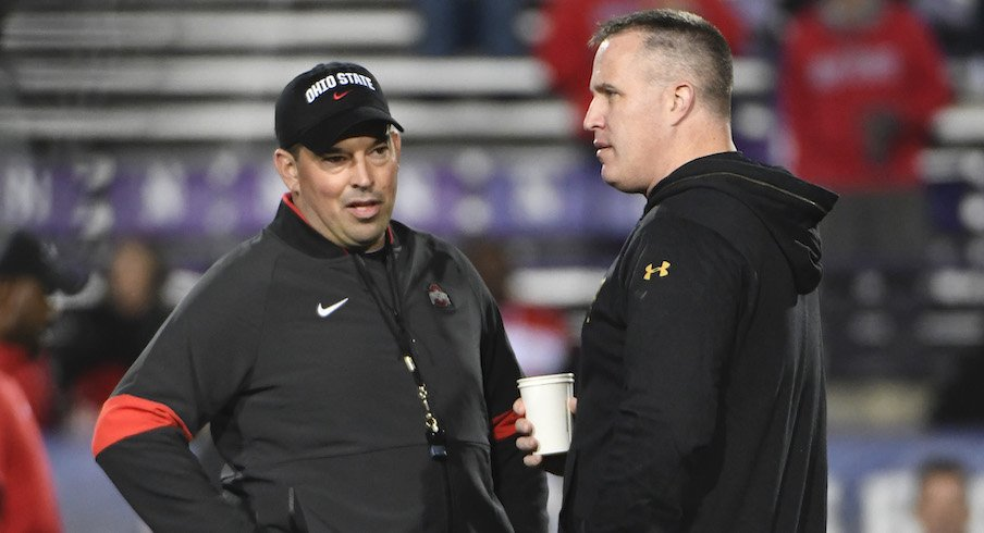 Ryan Day and Pat Fitzgerald