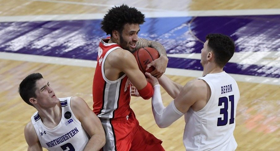 Duane Washington followed up a 22-point performance against Rutgers with a seven-point afternoon on 1-of-9 shooting versus Northwestern.