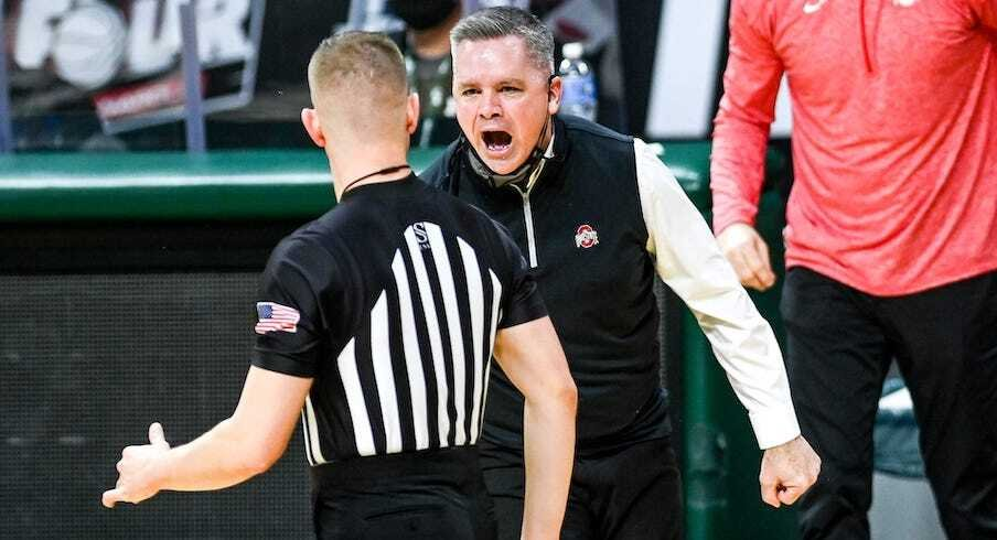 "Chris Holtmann Thought ""Normally Called Fouls"" Were ""Not Being Called Fouls"" in Ohio State's Loss to Michigan State"