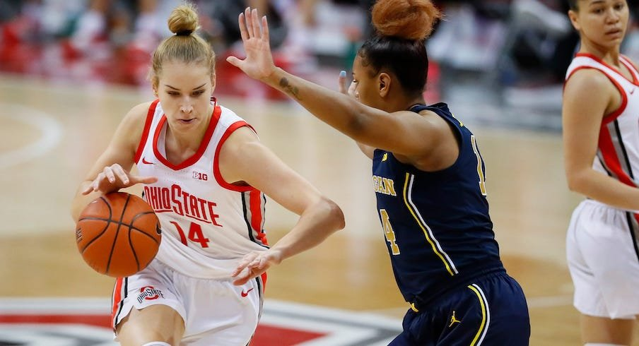 Two-Time All-Big Ten Forward Dorka Juhász to Transfer from Ohio State |  Eleven Warriors