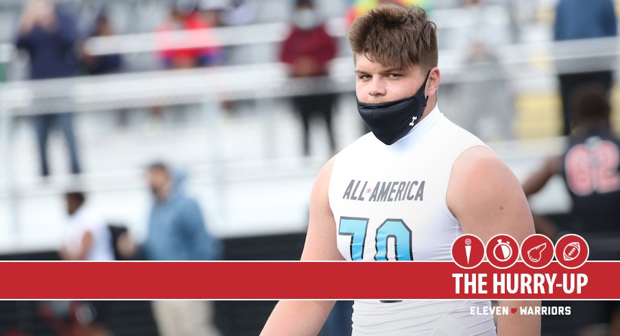 The Hurry-Up: Josh Padilla Grew Up a Buckeye Fan After Watching Josh Myers, Braxton Miller and Robert Landers, Georgia Now Ranked No. 1 in 2022