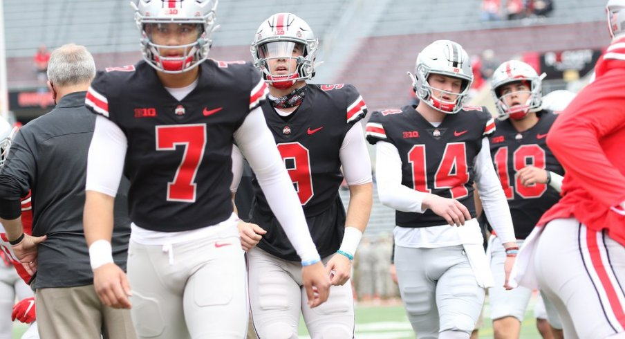 C.J. Stroud, Jack Miller, and Kyle McCord all made their case to be Ohio State's starting QB this fall in last Saturday's Spring Game.