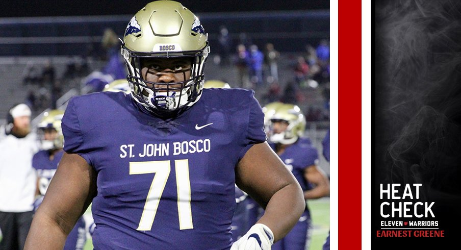 Earnest Greene has emerged as the top target along the interior offensive line.